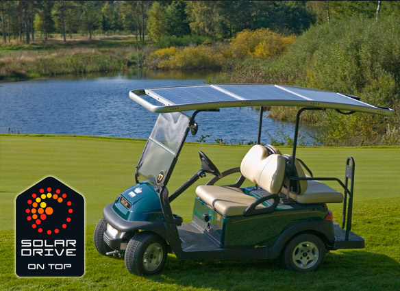SolarDrive solar roof for golf cars 6
