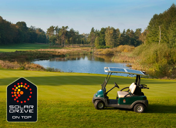 SolarDrive solar power for golf cars