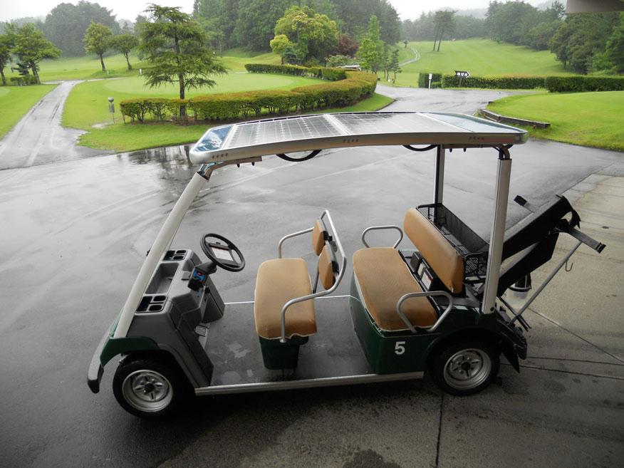 Solar Drive Gallery 4-seater golf cars - SolarDrive