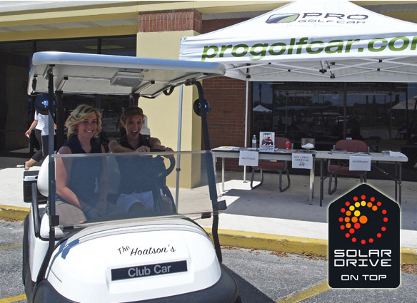 SolarDrive on Top at Pro Golf Car Florida