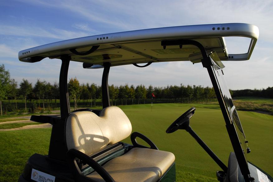 Solar Drive Gallery 2-seater golf cars - SolarDrive